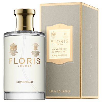 Image of Floris Grapefruit and Rosemary Room Fragrance, 100ml