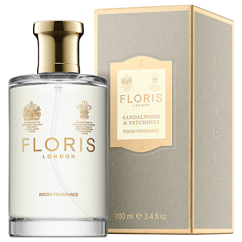 Buy Floris Sandalwood & Patchouli Room Fragrance, 100ml Online at johnlewis.com