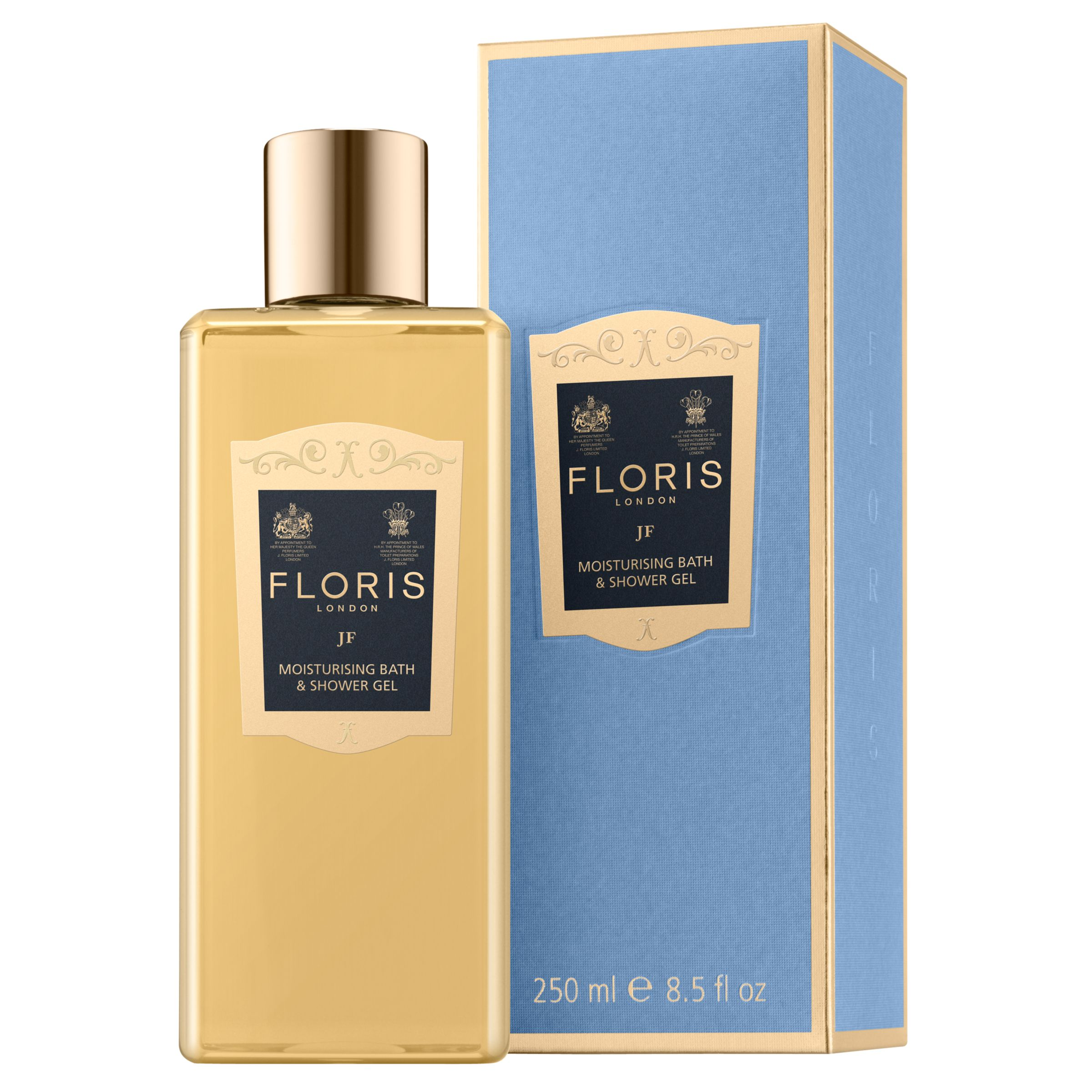 Floris Floris JF Bath and Shower Gel, 250ml