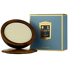 Buy Floris JF Shaving Soap Bowl, 100g Online at johnlewis.com