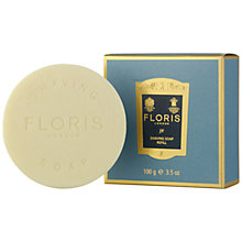 Buy Floris JF Shaving Soap Refill, 100g Online at johnlewis.com