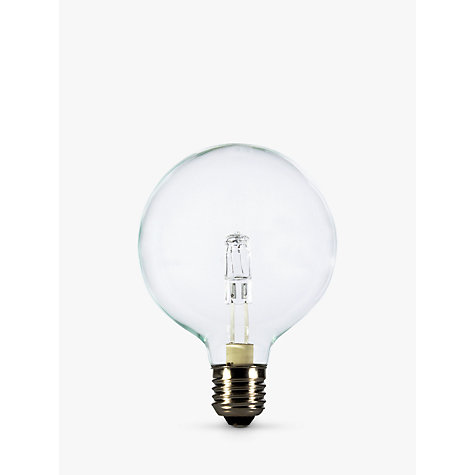 Buy Calex 28W ES Halogen Globe G95 Bulb, Clear Online at johnlewis.com