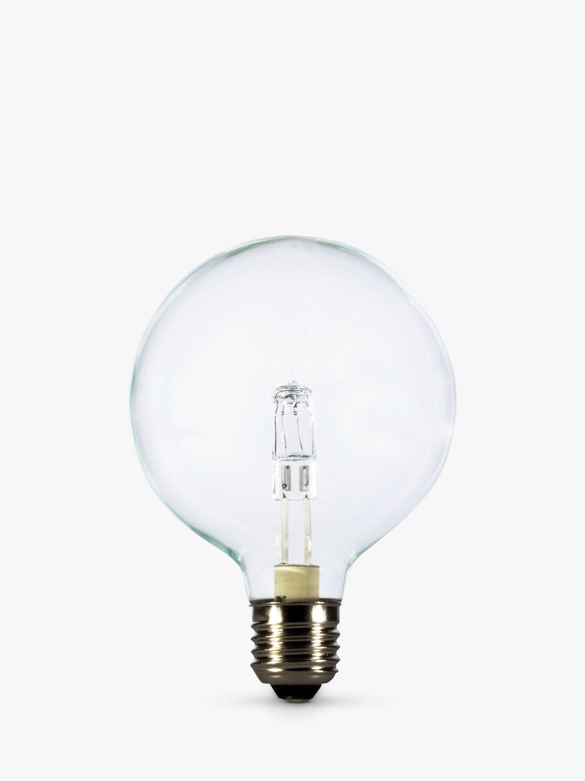 Calex Calex 28W ES Halogen Globe G95 Bulb, Clear