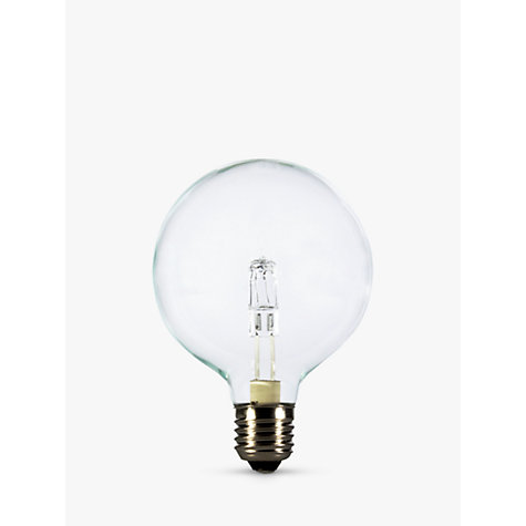 Buy Calex 42W ES Halogen Globe G95 Bulb, Clear Online at johnlewis.com