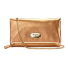 Buy Aspinal of London Constellation Clutch Handbag, Gold Online at johnlewis.com