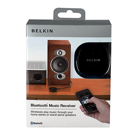 Buy Belkin F8Z492UK Bluetooth® Music Receiver Online at johnlewis.com