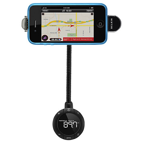 Buy Belkin Tunebase in Car iPhone & iPod Charger and Handsfree Kit Online at johnlewis.com