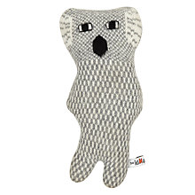 Buy Donna Wilson Wilbur Koala Cushion, Grey Online at johnlewis.com