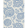 Buy Harlequin Beatrice Wallpaper, Blue, 110141 Online at johnlewis.com
