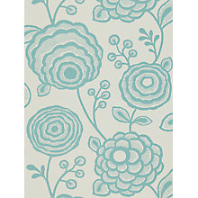 Buy Harlequin Beatrice Wallpaper, Turquoise, 110142 Online at johnlewis.com