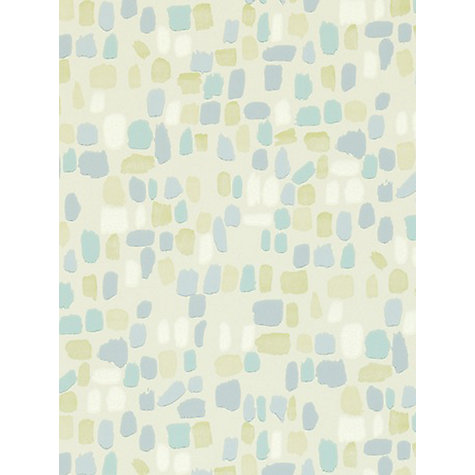 Buy Sanderson Dabs Wallpaper, Duck Egg / Sky, 211091 Online at johnlewis.com