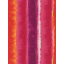 Buy Harlequin Demeter Stripe Wallpaper, Orange, 110191 Online at johnlewis.com