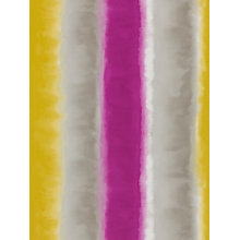 Buy Harlequin Demeter Stripe Wallpaper, Magenta / Mustard / Slate, 110190 Online at johnlewis.com