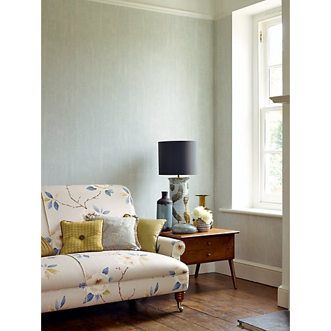 Buy Sanderson Dry Brush Textured Wallpaper, Palest Blue, 211106 Online at johnlewis.com