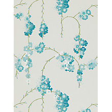 Buy Harlequin Giselle Wallpaper, Teal, 110131 Online at johnlewis.com
