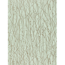 Buy Harlequin Grasses Wallpaper, Duck Egg, 110152 Online at johnlewis.com