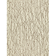Buy Harlequin Grasses Wallpaper, Pebble / Rose Gold, 110151 Online at johnlewis.com