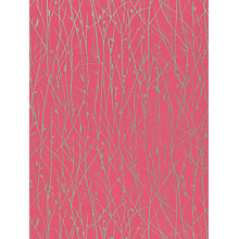 Buy Harlequin Grasses Wallpaper, Raspberry, 110154 Online at johnlewis.com