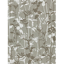 Buy Harlequin Nettles Wallpaper, Slate / Silver, 110170 Online at johnlewis.com