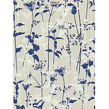 Buy Harlequin Nettles Wallpaper, White / Blue, 110171 Online at johnlewis.com
