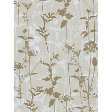 Buy Harlequin Nettles Wallpaper, White / Gold, 110169 Online at johnlewis.com