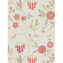 Buy Harlequin Ophelia Wallpaper, Coral, 110145 Online at johnlewis.com