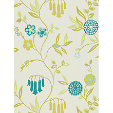 Buy Harlequin Ophelia Wallpaper, Teal, 110144 Online at johnlewis.com