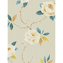 Buy Sanderson Ottoline Wallpaper, Copper / Teal, 211069 Online at johnlewis.com