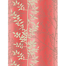 Buy Harlequin Persephone Wallpaper, Coral, 110183 Online at johnlewis.com