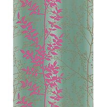 Buy Harlequin Persephone Wallpaper, Grey / Pink,110182 Online at johnlewis.com
