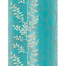 Buy Harlequin Persephone Wallpaper, Teal, 110184 Online at johnlewis.com