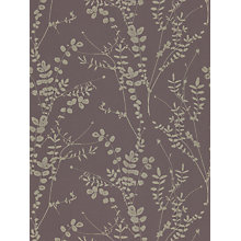Buy Harlequin Salvia Wallpaper, Aubergine, 110157 Online at johnlewis.com