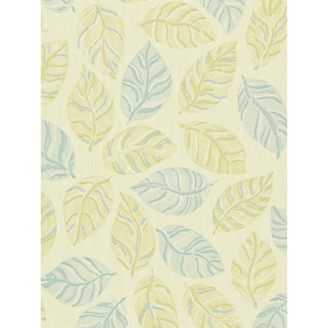 Buy Sanderson Woodland Wallpaper, Gold / Blue, 211087 Online at johnlewis.com