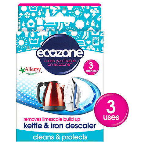 Buy Ecozone Kettle & Iron Descaler Online at johnlewis.com