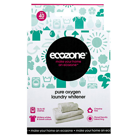 Buy Ecozone Pure Oxygen Laundry Whitener, 40 washes Online at johnlewis.com