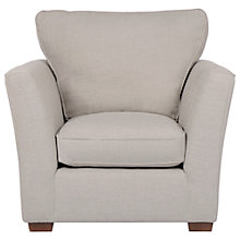 Buy John Lewis Nantes Armchair, Evora Grey Online at johnlewis.com