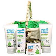 Buy Organic Babies New Born Hamper Online at johnlewis.com