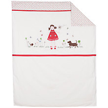 Buy John Lewis Ragdoll Cotbed Quilt Online at johnlewis.com
