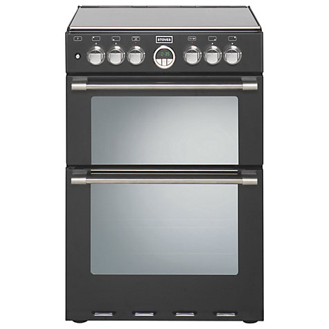 Buy Stoves Sterling 600DF Dual Fuel Cooker, Black Online at johnlewis.com