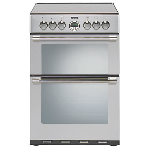 Buy Stoves Sterling 600E Electric Cooker, Stainless Steel Online at johnlewis.com