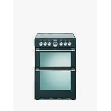 Buy Stoves Sterling 600E Electric Cooker, Black Online at johnlewis.com