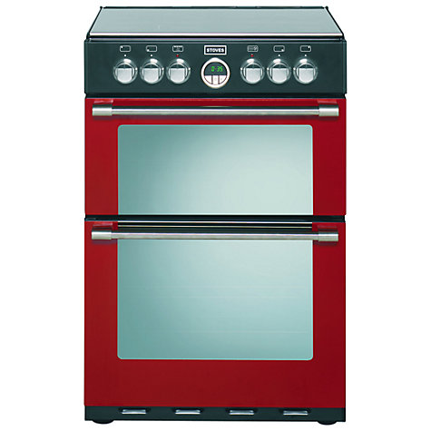Buy Stoves Sterling 600E Electric Cooker, Jalapeño Red Online at johnlewis.com