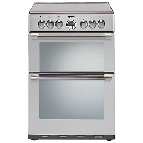 Buy Stoves Sterling 600EI Induction Hob Electric Cooker, Stainless Steel Online at johnlewis.com