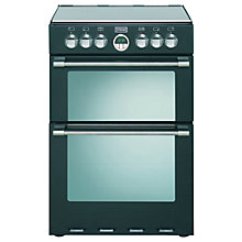 Buy Stoves Sterling 600EI Indcution Hob Electric Cooker, Black Online at johnlewis.com