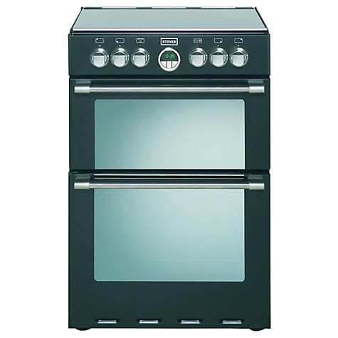 Buy Stoves Sterling 600EI Electric Cooker, Black Online at johnlewis.com