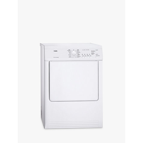 Buy AEG T65170AV Vented Tumble Dryer, 7kg Load, C Energy Rating, White Online at johnlewis.com