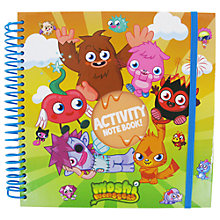 Buy Moshi Monsters Activity Notebook Online at johnlewis.com