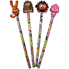 Buy Moshi Monsters Pencil and Topper, Assorted Online at johnlewis.com