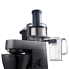 Buy Kenwood Chef AT641 Vita Pro-Active Continuous Juicer Attachment Online at johnlewis.com