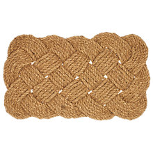 Buy John Lewis Knotted Coir Rope Door Mat Online at johnlewis.com
